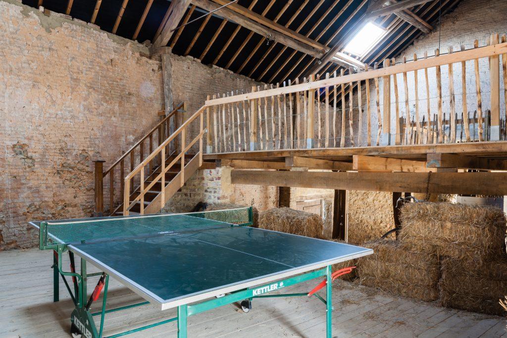 Vakantiehuis in Ardennen met grote zolder en tafeltennis
