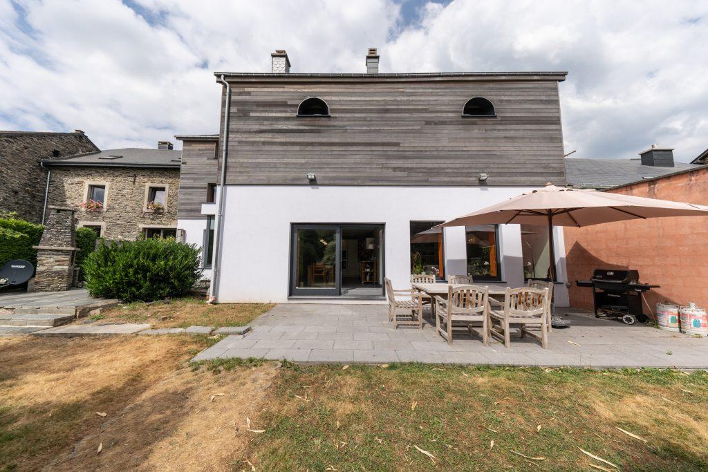 Grote tuin vakantie huis Vresse-sur-semois