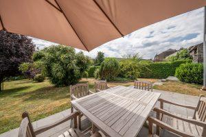 Grote tuin vakantie huis Ardennen