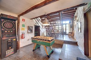 Vakantiehuis Ardennen met voetbaltafel